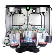 Complete 4 x 600w Grow Tent Kits