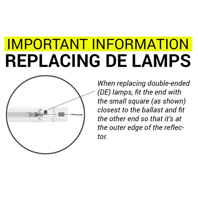 Gavita Pro Wide Angle W150 DE Replacement Reflector