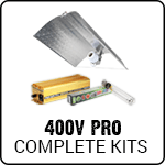 Complete 400 Volt Professional Grow Light Kits