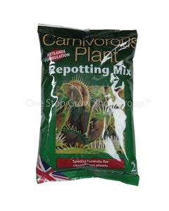 Carnivorous Plant Repotting Mix 2 Litre