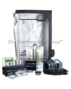 600 Watt Essential Grow Tent Kit with 600W Grow Light and Full Extraction Kit
