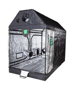 BudBox Pro - Pitched Roof - 1.2m x 2.4m x 1.8m - Loft Grow Tent