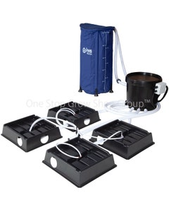 Medusa Dripper System (No Pots & Large Trays)