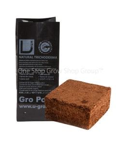 U-GRO Compressed Coco Grow Pot - 4 Litre