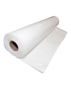 White Floor Secure Sheeting 250mu - 4m Wide