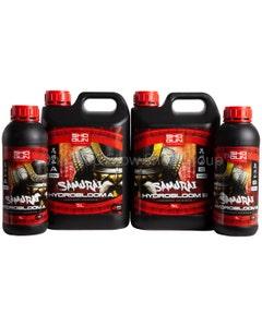 Shogun Fertilisers - Samurai Hydro Bloom Nutrient A&B - For Hard Water