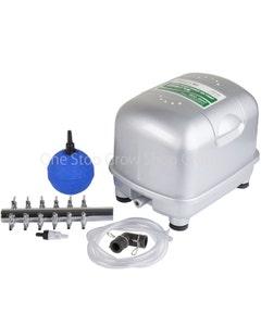 """Hailea SSH Air Pump Kit with 2"""" Ball Air Stones"""